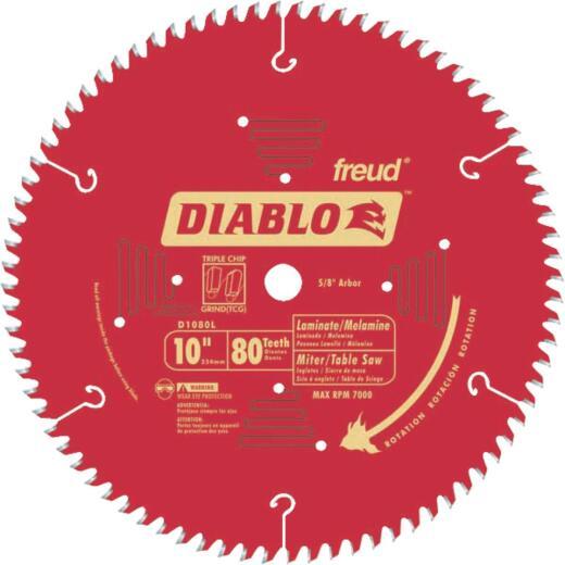 Diablo 10 In. 84-Tooth Laminate Circular Saw Blade