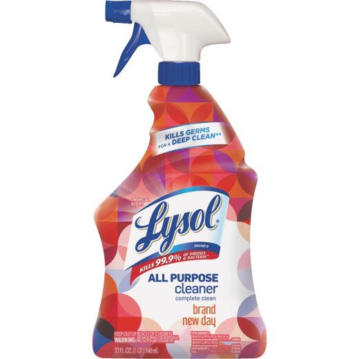 Lysol 32 Oz Brand New Day Household All Purpose Cleaner