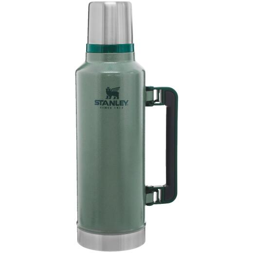 Stanley 2 Qt. Green Stainless Steel Insulated Vacuum Bottle