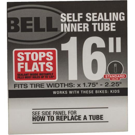 Bell Sports 16 In. Self-Sealing Bicycle Tube